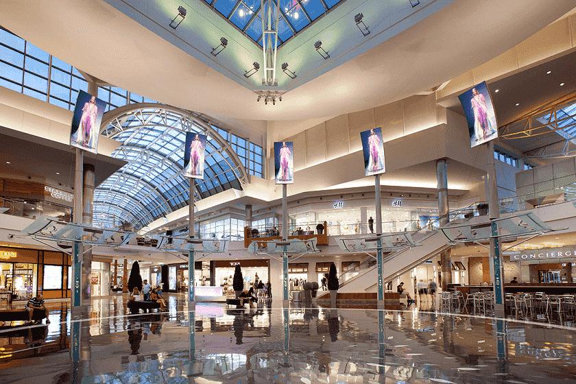 Inside Mall At Millenia in Orlando