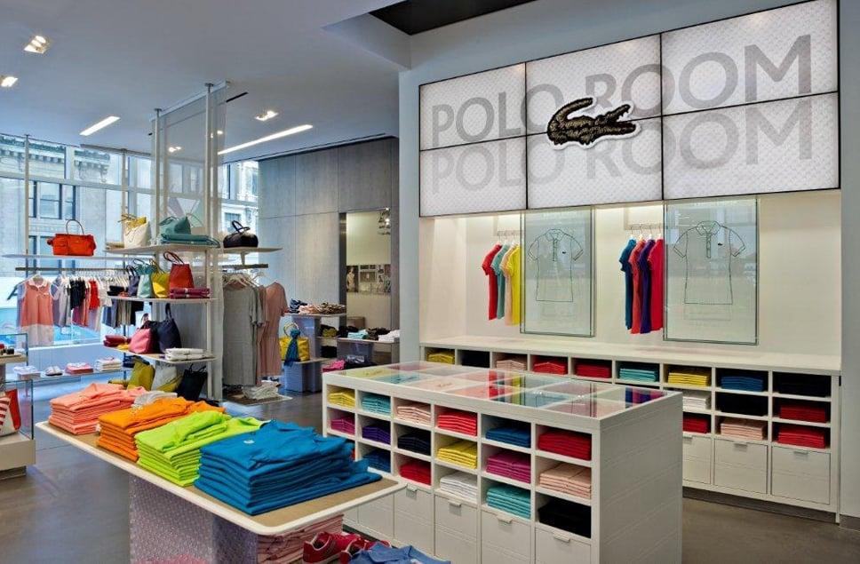 Lacoste store in Orlando