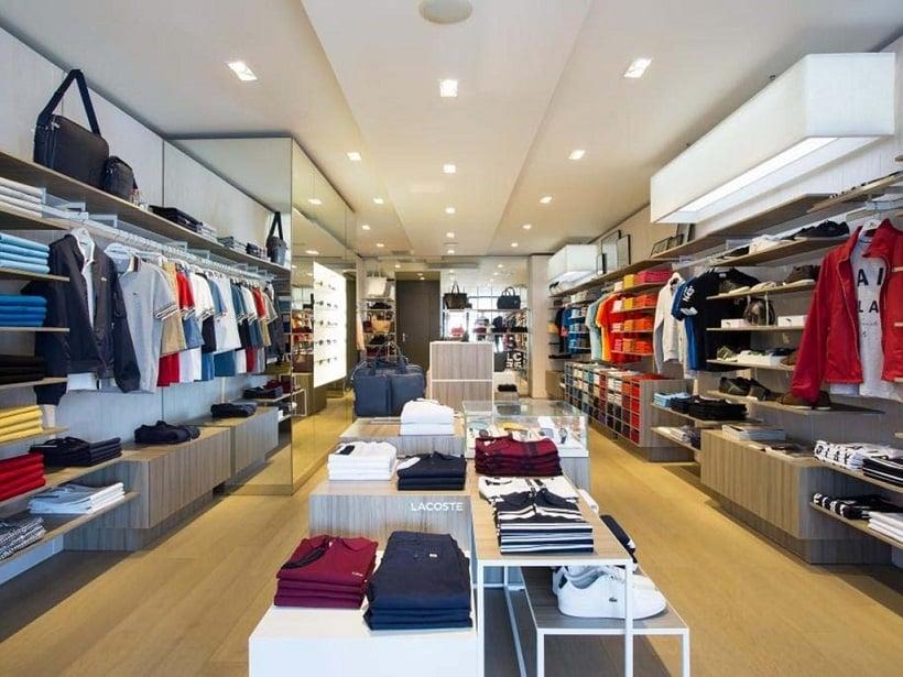 Inside Lacoste Store