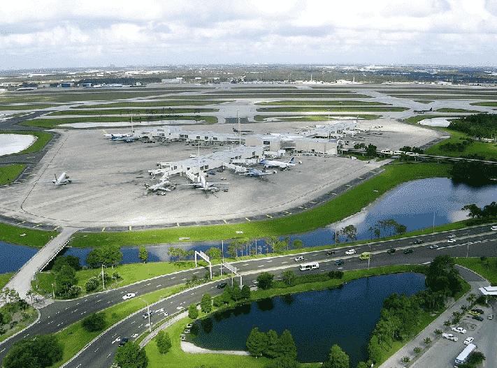 Orlando International Airport view