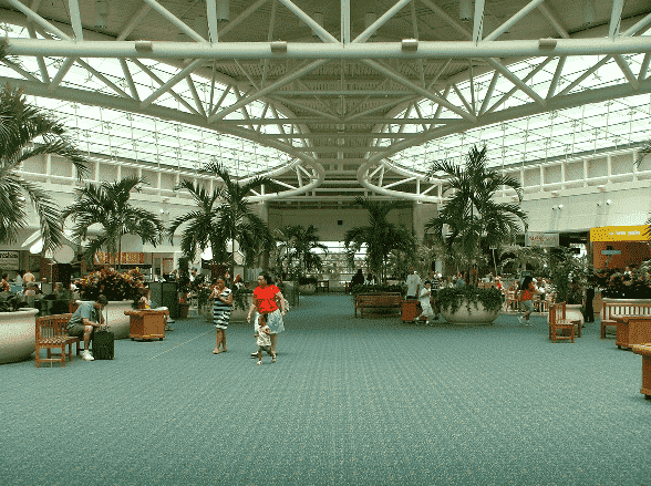 Orlando International Airport stores and things to do