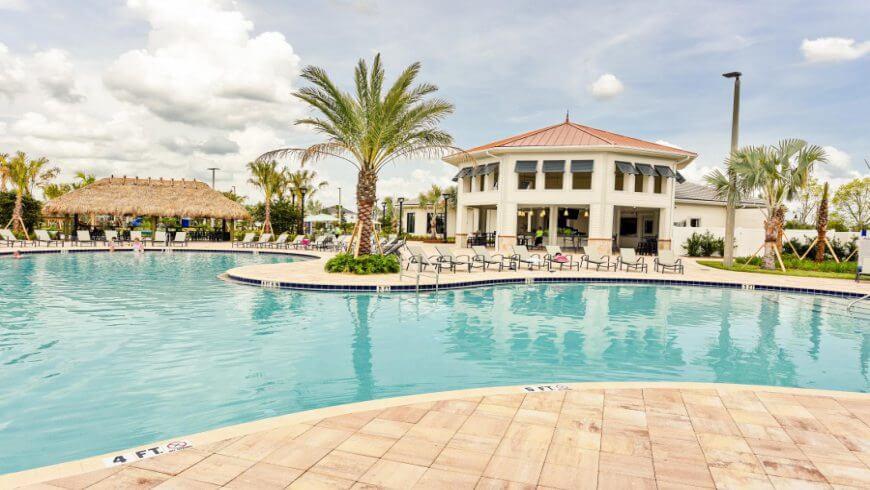 Storey Lake pool in Orlando