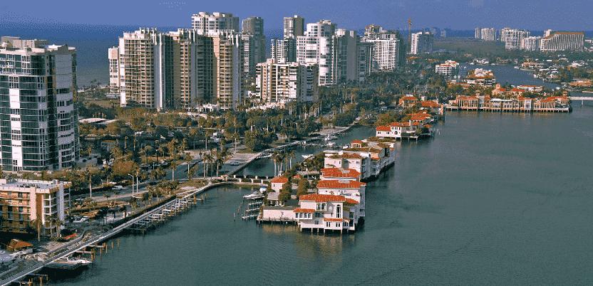 Map of Florida: best tourist cities