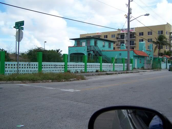 Dangerous places in Miami