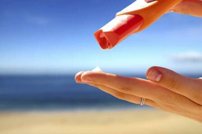 Sunscreen in Miami