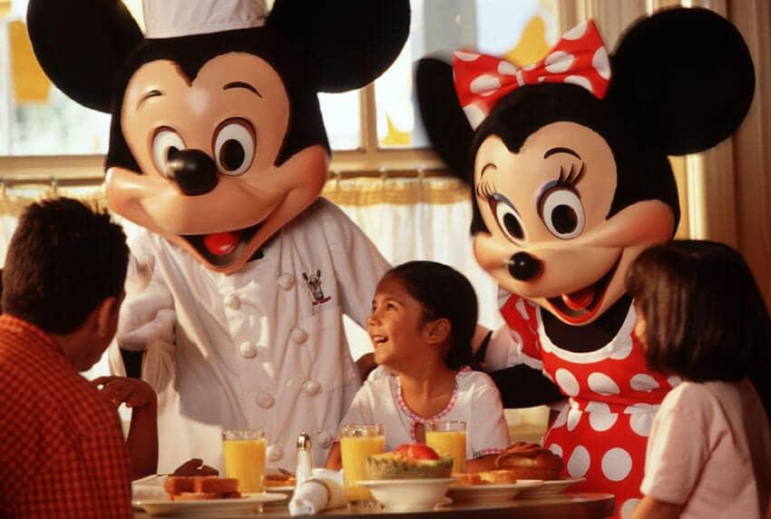 Mickey and Minnie at Disney Orlando