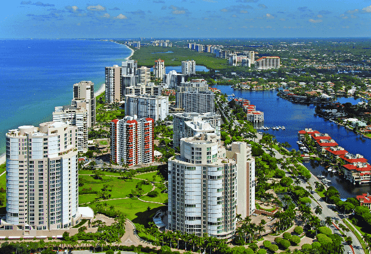 Naples in Florida