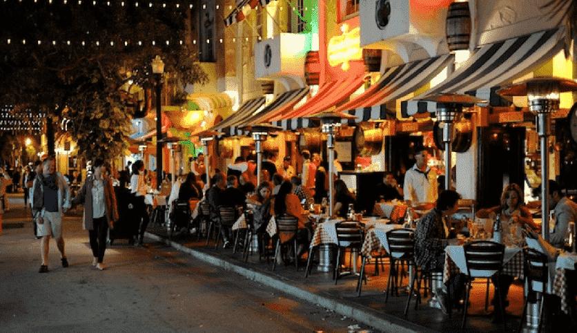 Española Way in South Beach