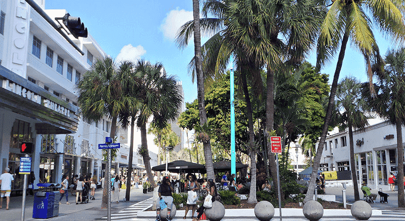 Lincoln Road in South Beach
