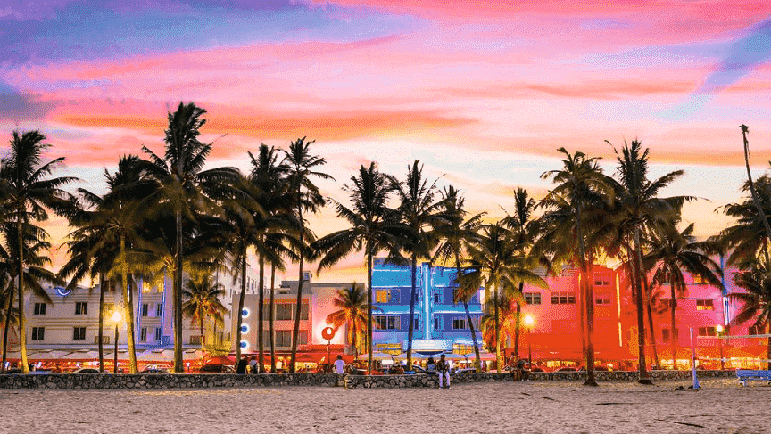 Afternoon in Miami