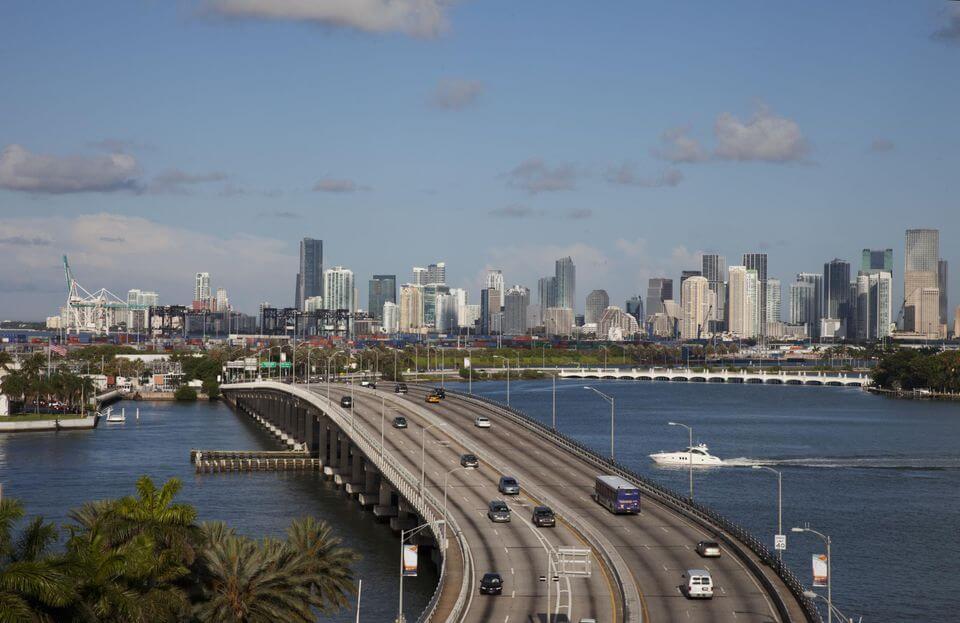Miami to Orlando highways