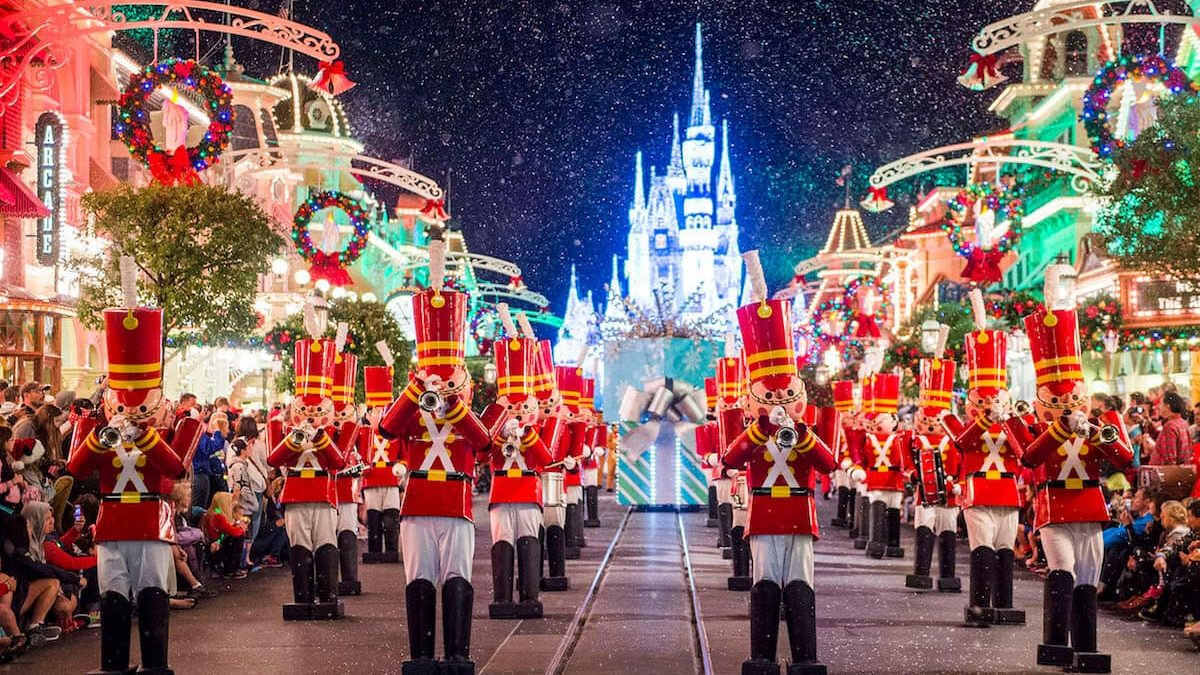 Christmas at the Disney Parks in Orlando in December